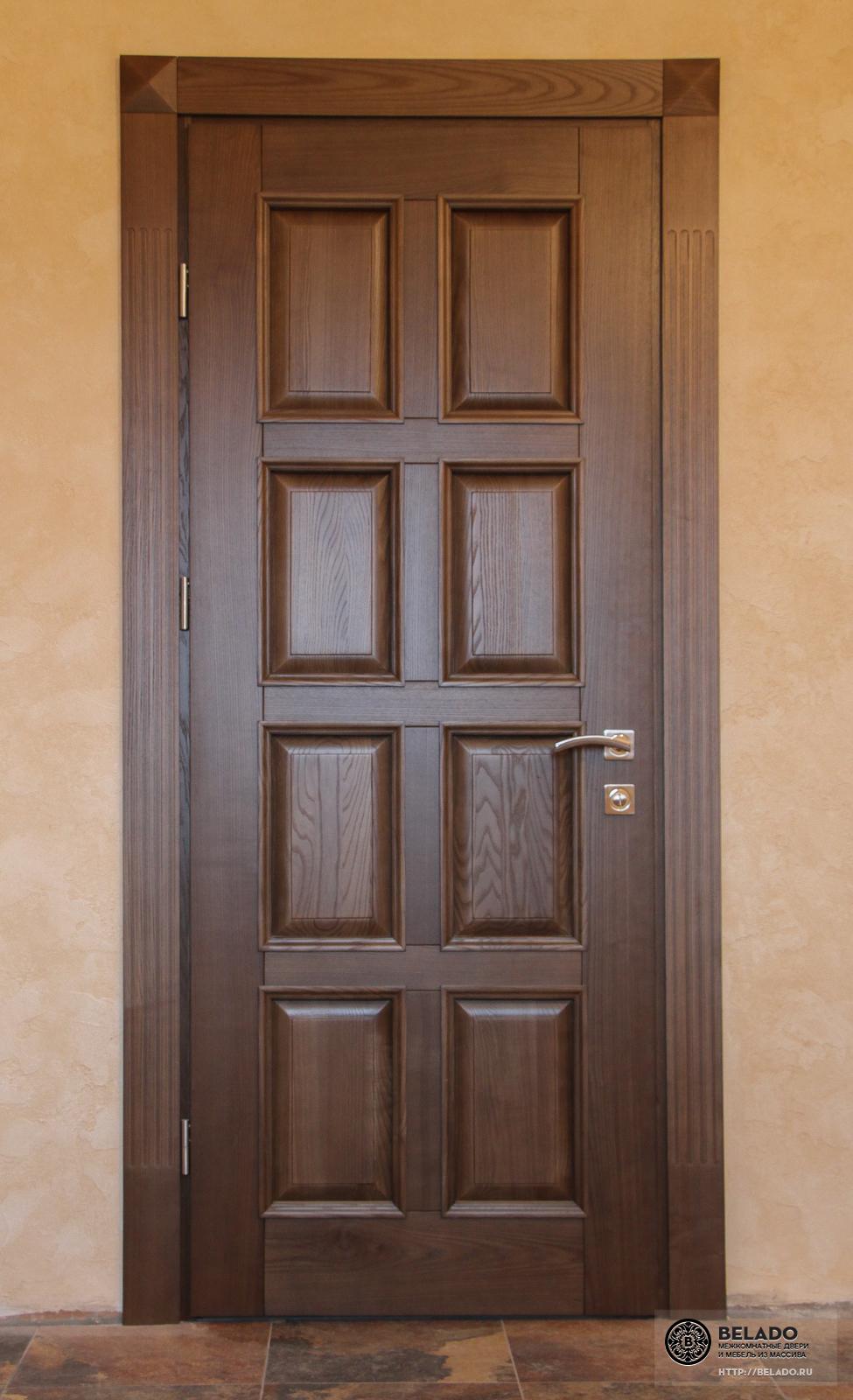 Межкомнатные двери из массива дуба купить в официальном